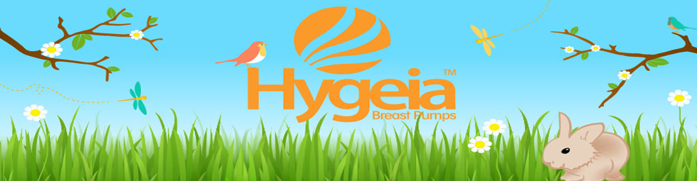 hygeia breast pumps logo